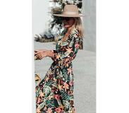 Colourful Rebel Tropical Flower Maxi Dress | Pre-order