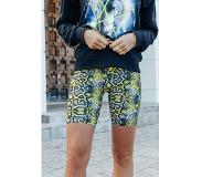Colourful Rebel Snake Print Cycle Shorts