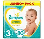 Pampers Luiers - Premium Protection - Maat 3 80 luiers