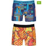 Muchachomalo Boxers High Score 2-pack Heren - Multi - S