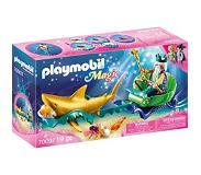 Playmobil - Magic - Triton with Shark Carriage (70097)