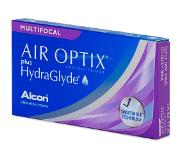 Alcon Air Optix plus HydraGlyde Multifocal (3 lenzen)