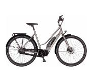 Cortina E-Mozzo damesfiets Shadow Silver DB7 2019
