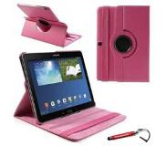 HEM Hard Roze 360 graden draaibare tablethoes Galaxy Note 10.1 2014