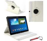 HEM Witte 360 graden draaibare tablethoes Galaxy Note 10.1 2014 Edition en