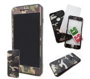 HEM iPhone 7 Full Body Cover Case Army defender 360 graden Legerprint
