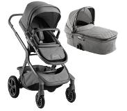 Nuna Demi Grow kinder- en wandelwagen threaded Grijs