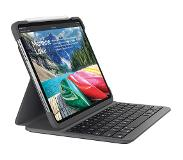 Logitech Slim Folio Apple iPad Pro 12,9 inch (2018) Toetsenbord Hoes QWERTY