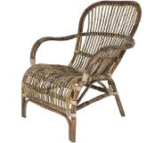 Light & Living Light&Living Fauteuil Bandung Rotan bruin 83 x 64 x 86
