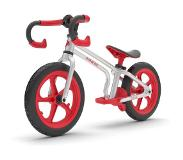 Chillafish Fixie loopfiets Junior Zilver/Rood