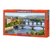Castorland legpuzzel Vltava Bridges in Prague 4000 stukjes