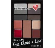 Revlon Palet Eyes Cheeks Lips 200 - Seductive Smokies Stuk