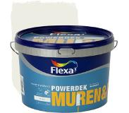 Flexa Powerdek latex RAL 9010 gebroken wit mat 2,5 liter