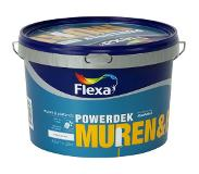 Flexa Powerdek latex stralend wit mat 2,5 liter