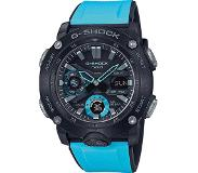 Casio G-Shock GA-2000-1A2ER Horloge Carbon Core Guard blauw 51,2 mm
