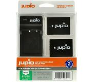Jupio Kit: 2x Battery NP-W126S + USB Single Charger