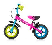 Milly Mally loopfiets - DRAGON met handrem (Multi-color)