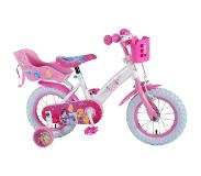 Disney Princess Kinderfietsen Princess (Doll Carrier) 12''