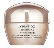 Shiseido Benefiance WrinkleResist24 Intensive Nourishing and Recovery Cream vochtinbrengende crème gezicht 50 ml
