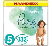 Pampers Pure Protection Maat 5, 132 Luiers, 11+kg