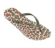 Ipanema Slipper Ipanema Women Animal Print Beige Green-Schoenmaat 39