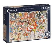 Jumbo legpuzzel Falcon Christmas On Ice 1000 stukjes