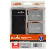 Jupio Kit: 2x Battery LP-E8 1120mAh + USB Single Charger