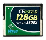 Wise 128GB CFast 2.0 3300x groen