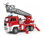 BRUDER MAN Fire engine with selwing ladder speelgoedvoertuig