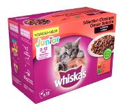 Whiskas Junior Multipack Classic in Saus 12 x 100 gr