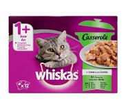 Whiskas Casserole Adult Mix Selectie in Gelei 12 x 85 gr