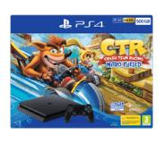 Sony Playstation 4 (Slim) 500GB Zwart + Crash Team Racing