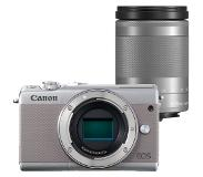 Canon EOS M100 zilver + 18-150mm IS STM