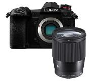 Panasonic Lumix DC-G9 zwart + Sigma 16mm F/1.4 DC DN Contemporary