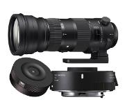 Sigma 150-600mm F/5-6.3 DG OS HSM Sports Canon + TC-1401 + USB Dock