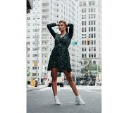 Colourful Rebel Ditzy Floral Blazer Dress Green