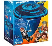 Playmobil PLAYMOBIL: THE MOVIE Rex Dasher met parachute - 70070