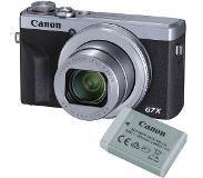 Canon G7X Mark III Silver Battery Kit