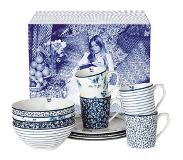 Laura Ashley Blueprint Serviesset 12-delig