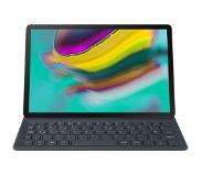 Samsung book cover keyboard (AZERTY) - zwart - T720 Tab S5e