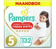 Pampers Premium Protection Pants maandbox maat 5 (12kg-17 kg) 132 luierbroekjes