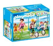 Playmobil Family Fun Familiefiets - 70093