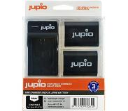 Jupio Kit: 2x Battery NP-FZ100 2040mAh + USB Single Charger