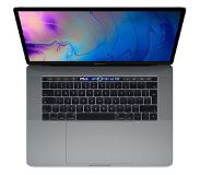 Apple [Open Box] Apple MacBook Pro 15 inch Touch Bar en Touch ID (2,6GHz 6-core i7 / 16GB / 256GB) - Spacegrijs