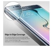 Smartphonehoesjes.nl Samsung Galaxy S6 Edge Screenprotector Fullscreen Curved - Glas