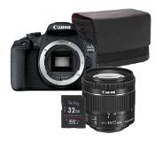Canon EOS 2000D + 18-55mm F/4-5.6 iS STM COMPACT Starterkit