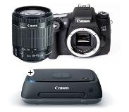Canon EOS 760D + 18-55mm iS STM + Canon CS100 connect station 1TB