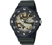 Casio - MRW-220HCM-3BVEF - Casio Collection - horloge - Mannen - Groen - Kunststof Ø 43 mm