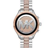 Michael Kors Access Lexington Gen 5 MKT5081 - Zilver/Rosé Goud met diamantjes