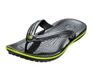 Crocs Slipper Crocs Crocband Flip Graphite/Volt Green